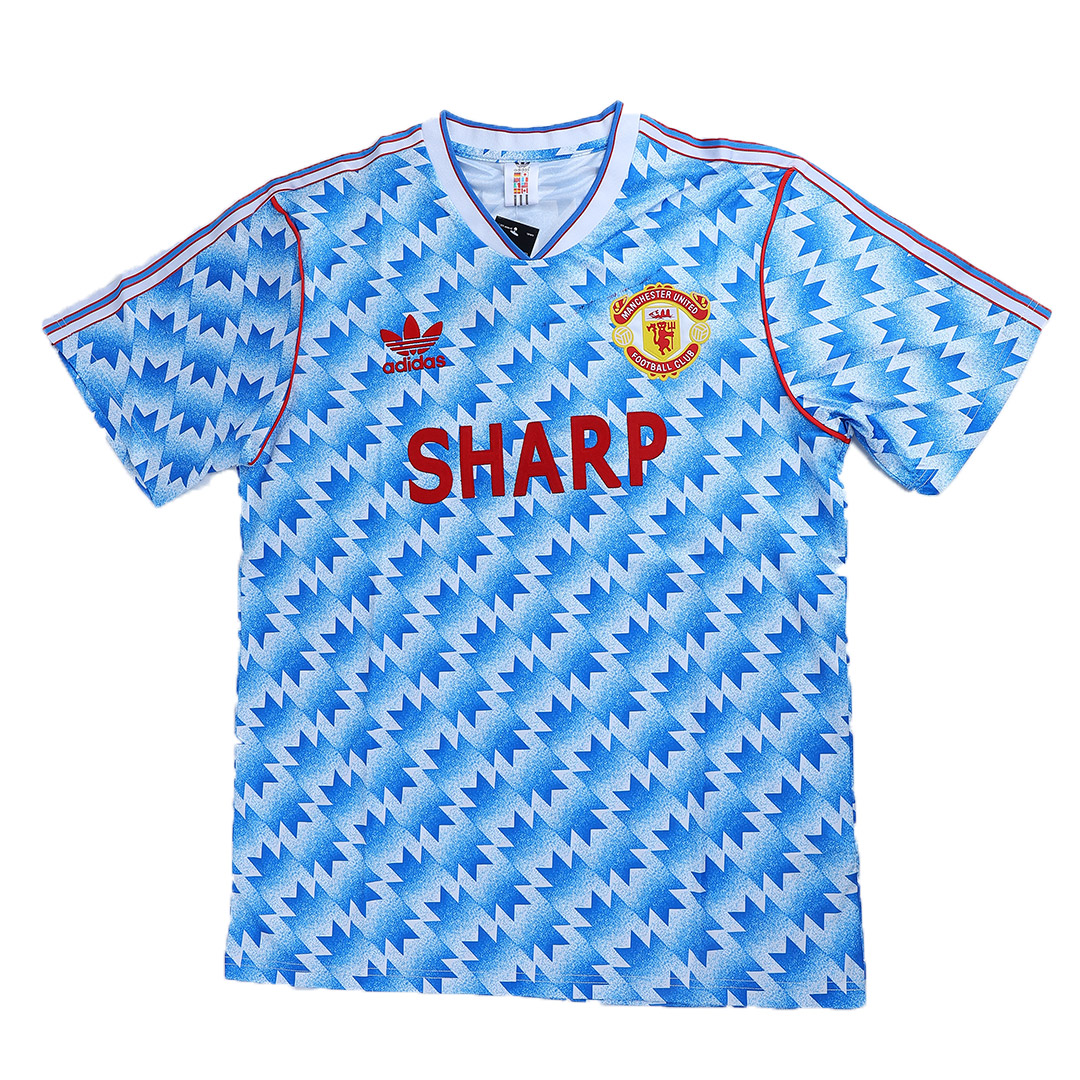 Manchester United Away Jersey Retro 1990/92 By Adidas | Elmont ...